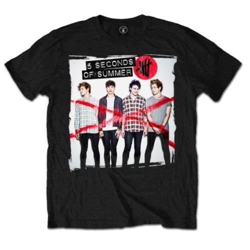 Tricou 5 Seconds of Summer Album Cover 1