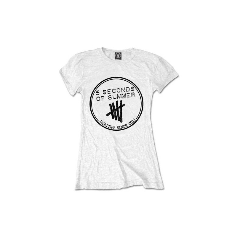 Tricou Dama 5 Seconds of Summer Derping Stamp