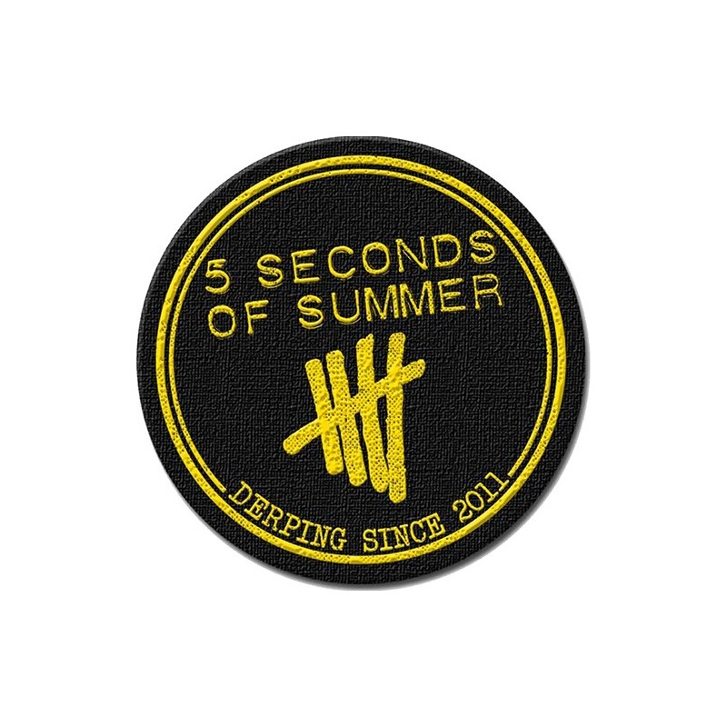Patch 5 Seconds of Summer Derping Stamp