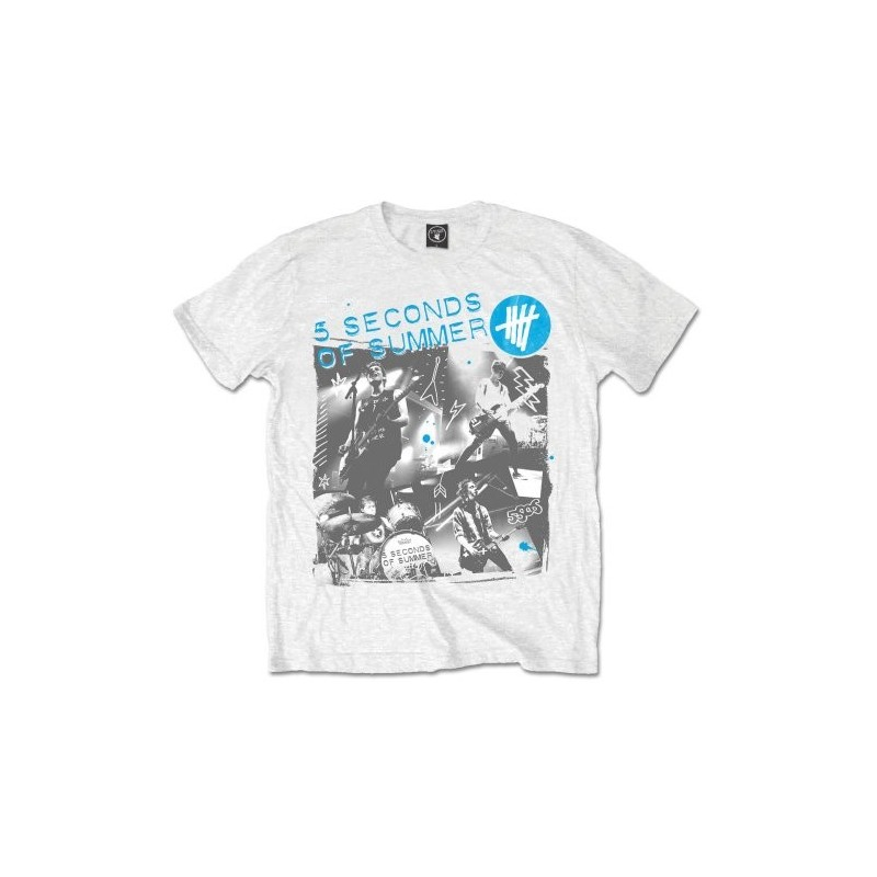Tricou 5 Seconds of Summer Live Collage
