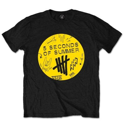 Tricou 5 Seconds of Summer Scribble Logo