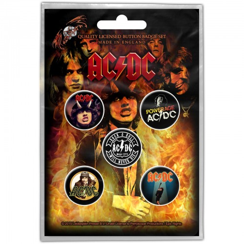 Set Insigne AC/DC Highway to Hell
