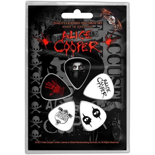 Set Pene Chitara Alice Cooper Eyes