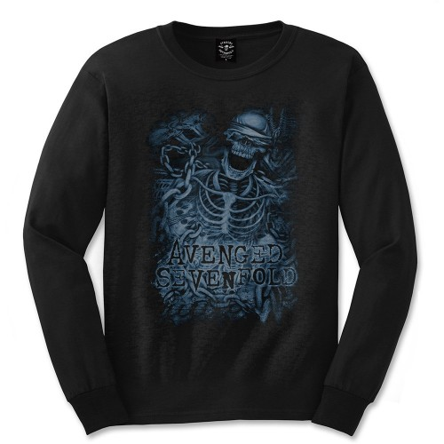 Tricou mânecă lungă Avenged Sevenfold Chained Skeleton