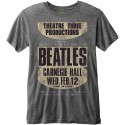 Tricou The Beatles Carnegie Hall
