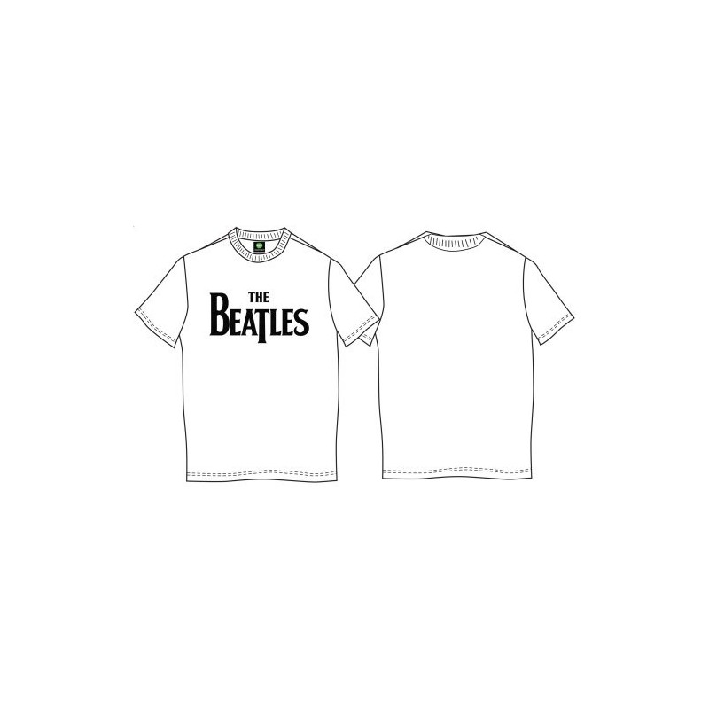 Tricou The Beatles Drop T Logo