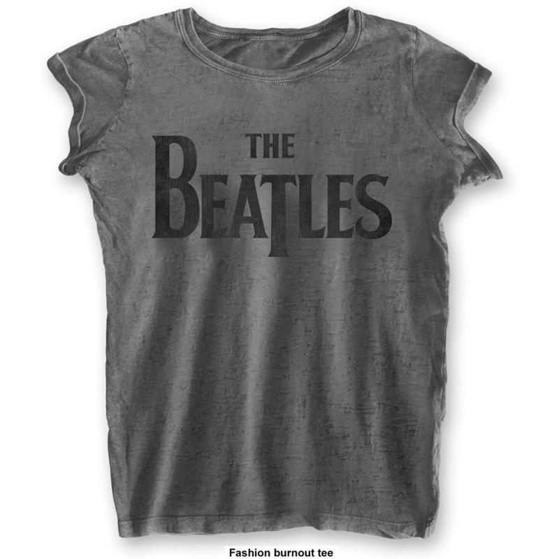 Tricou Damă The Beatles Drop T Logo