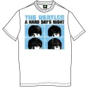 Tricou The Beatles Hard Days Night Pastel