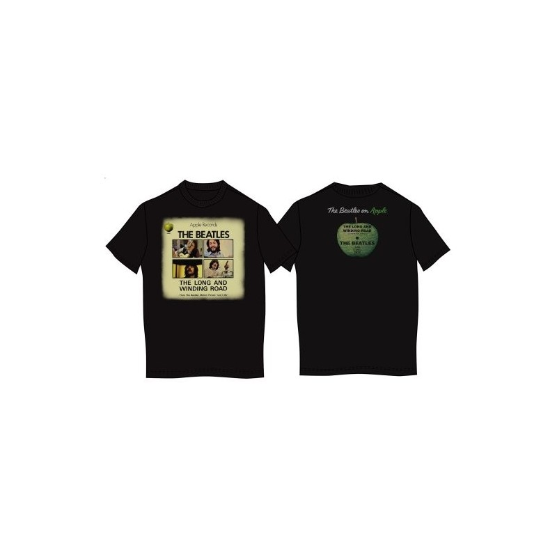 Tricou The Beatles Long & Winding Road