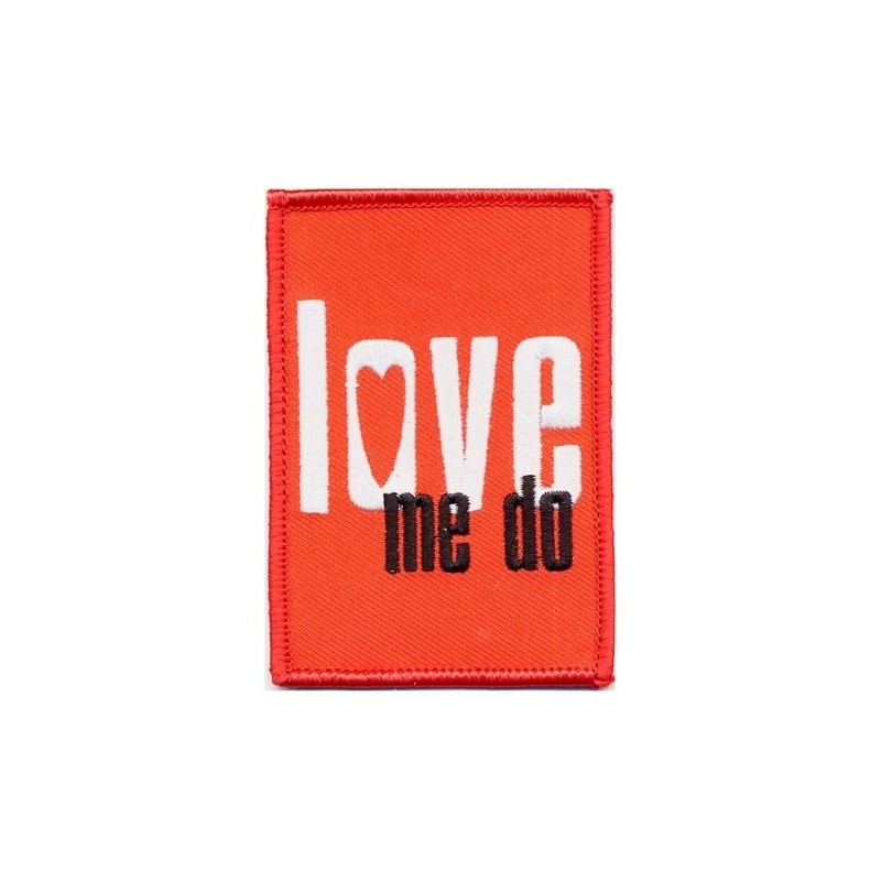 Patch The Beatles Love me do