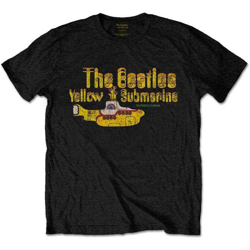 Tricou The Beatles Nothing is Real