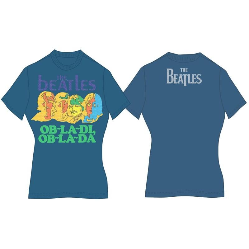 Tricou Damă The Beatles Ob-La-Di