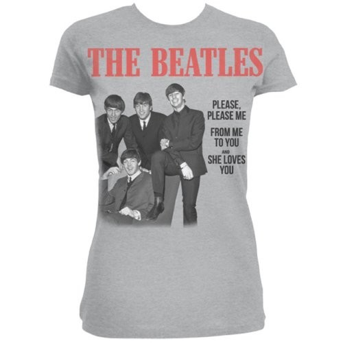 Tricou Damă The Beatles Please, Please Me