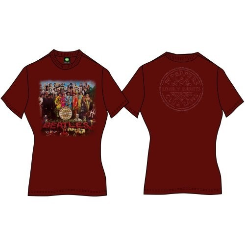 Tricou Damă The Beatles Sgt Pepper