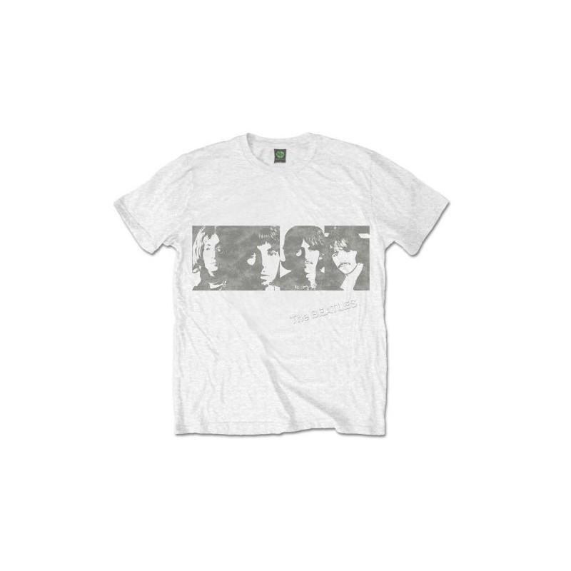 Tricou The Beatles White Album Faces