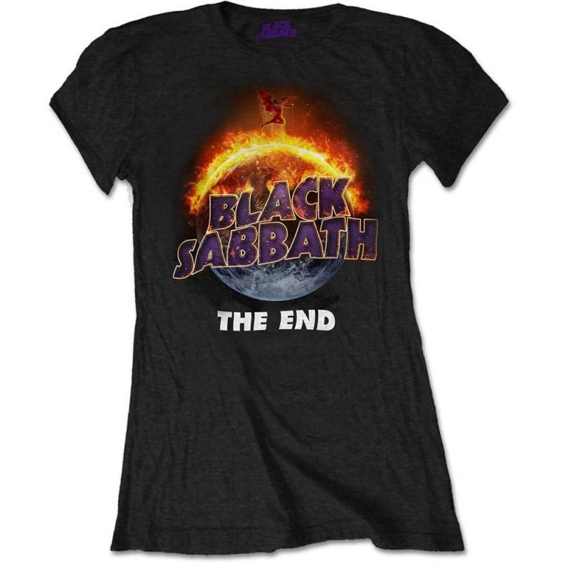 Tricou Damă Black Sabbath The End