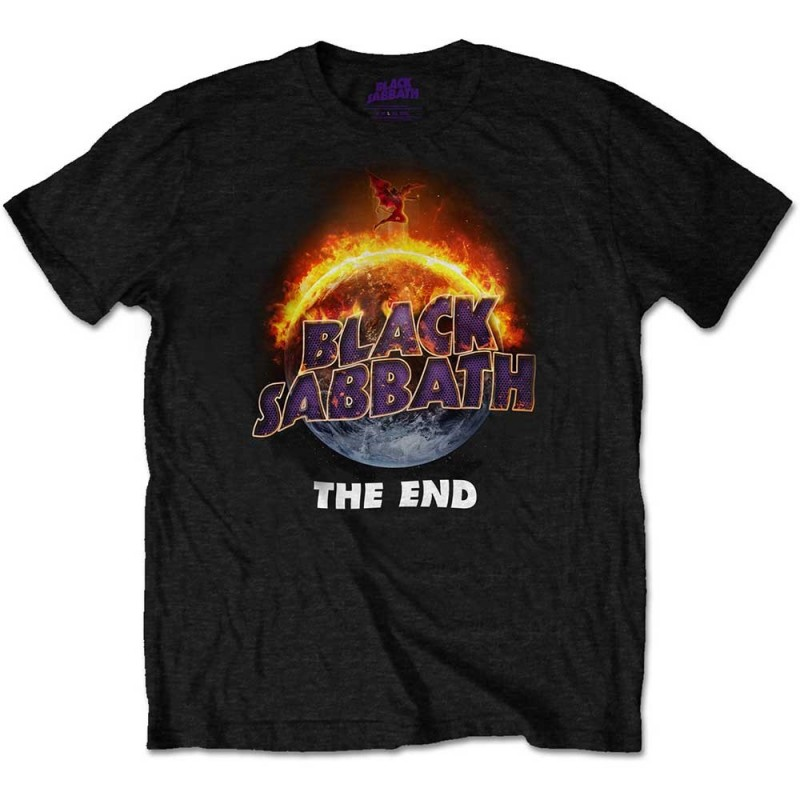 Tricou Black Sabbath The End