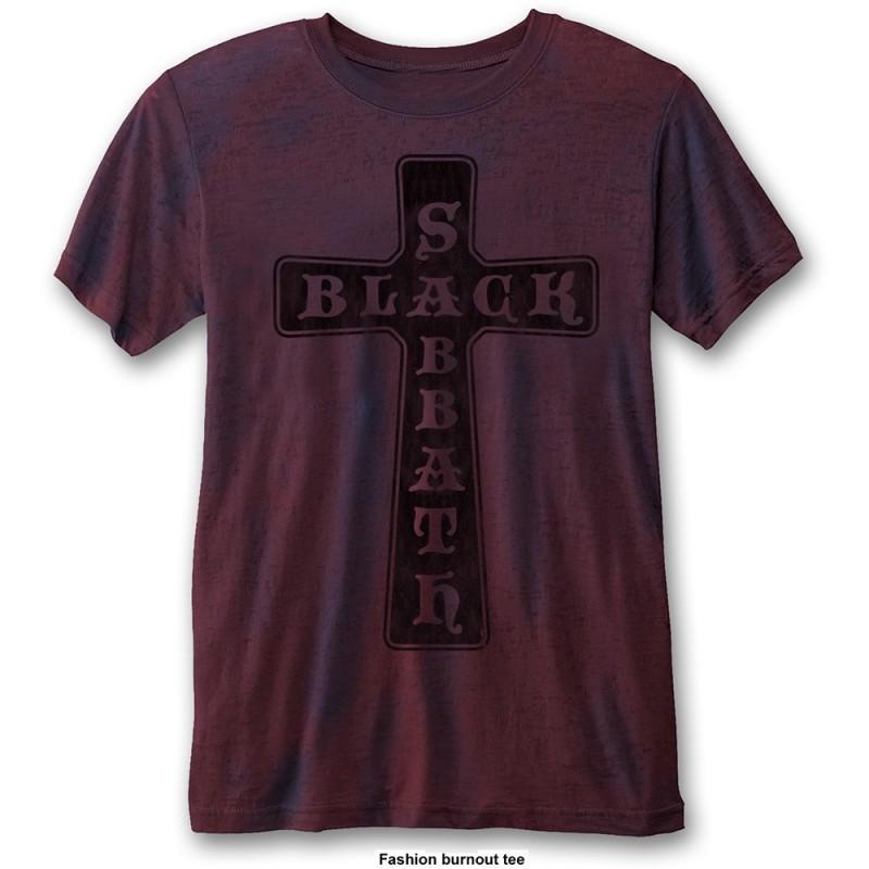 Tricou Black Sabbath Vintage Cross