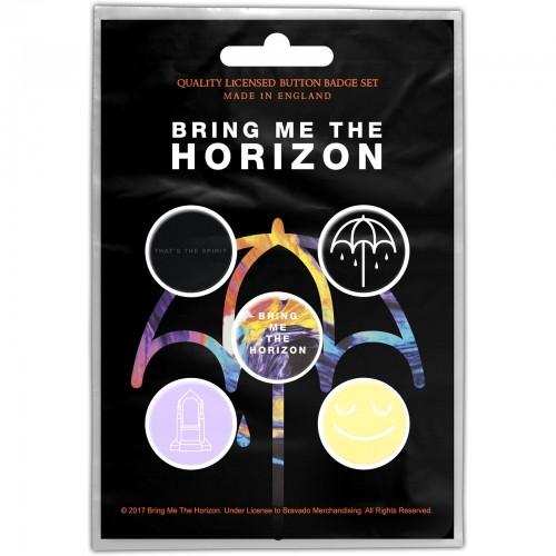 Set Insigne Bring Me The Horizon That's the Spirit