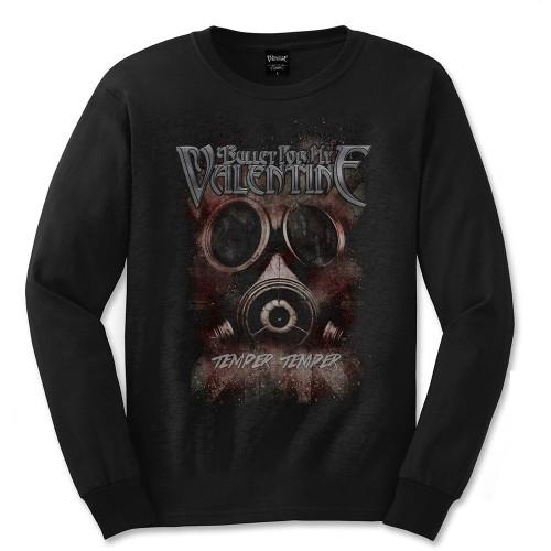 Tricou mânecă lungă Bullet For My Valentine Temper Temper Gas Mask