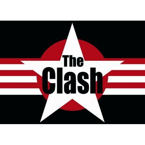 Carte Postală The Clash Stars & Stripes