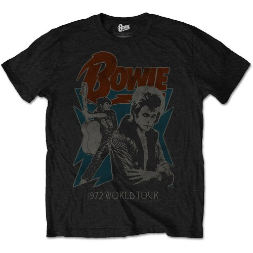 Tricou David Bowie 1972 World Tour