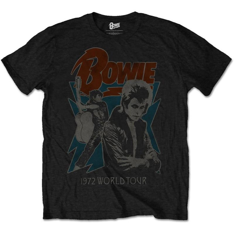 Tricou David Bowie 1972 World Tour