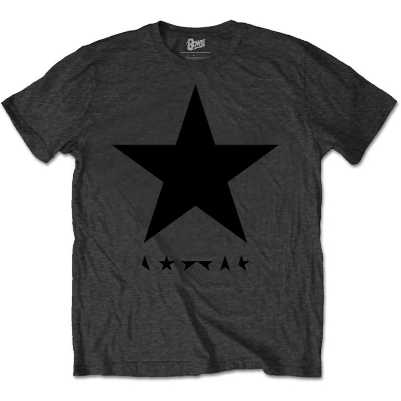 Tricou David Bowie Blackstar (on Grey)