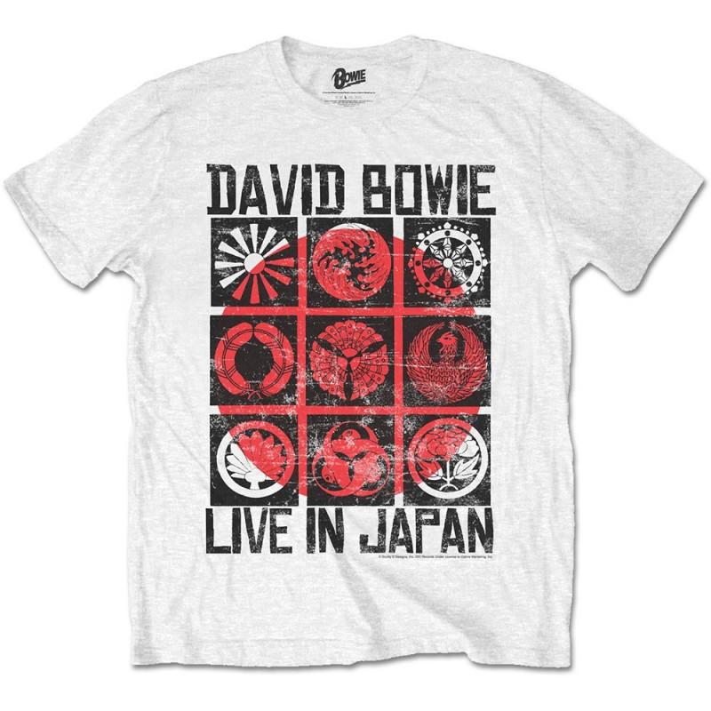 Tricou David Bowie Live in Japan
