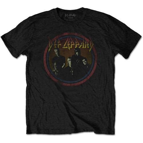 Tricou Def Leppard Vintage Circle