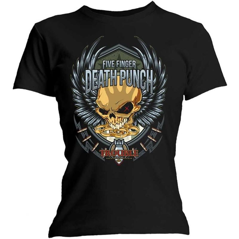 Tricou Damă Five Finger Death Punch Trouble