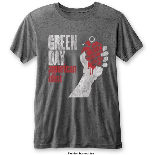 Tricou Green Day American Idiot Vintage