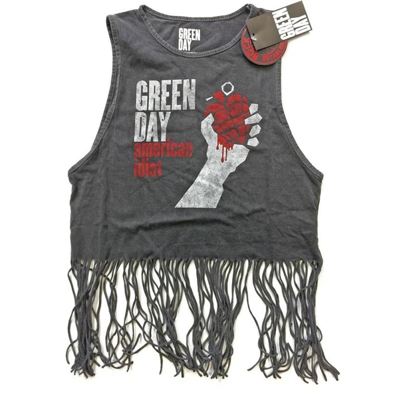 Maiou Damă Green Day American Idiot Vintage