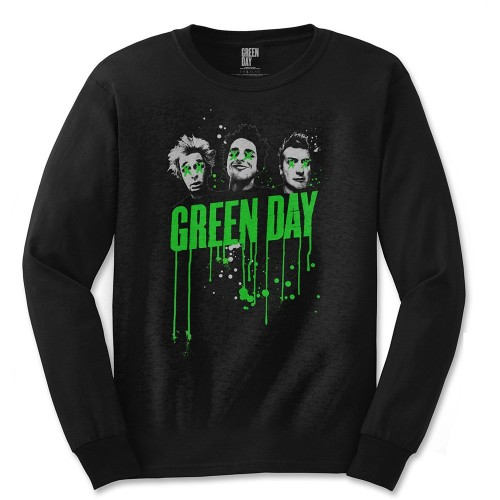 Tricou mânecă lungă Green Day Drips