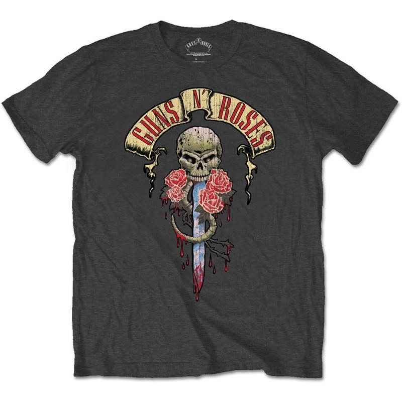 Tricou Guns N' Roses Dripping Dagger