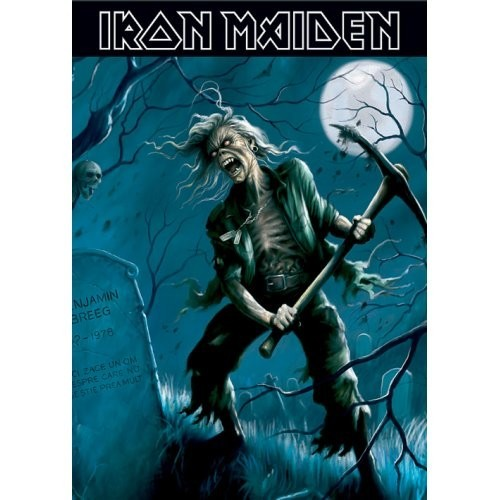 Carte Poștală Iron Maiden Benjamin Breeg