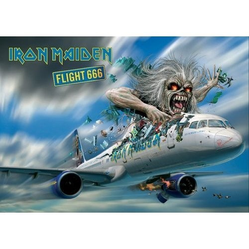 Carte Poștală Iron Maiden Flight 666