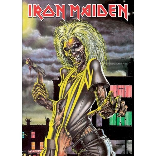 Carte Poștală Iron Maiden Killers