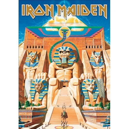 Carte Poștală Iron Maiden Powerslave