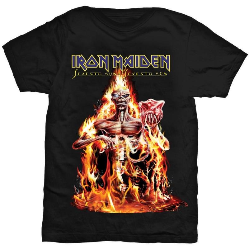 Tricou Iron Maiden Seventh Son