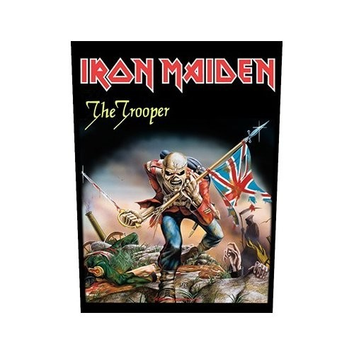 Back Patch Iron Maiden The Trooper