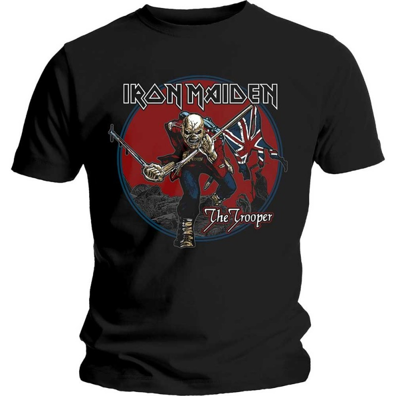 Tricou Iron Maiden Trooper Red Sky