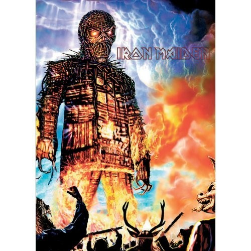Carte Poștală Iron Maiden Wicker Man
