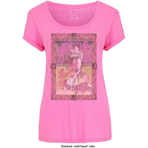 Tricou Damă Janis Joplin Avalon Ballroom '67