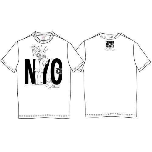 Tricou John Lennon NYC Power to the People