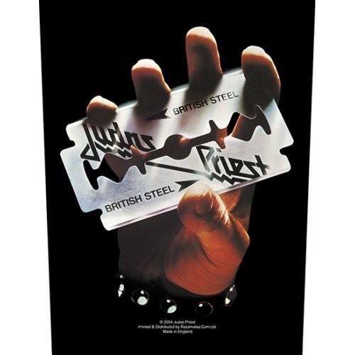 Back Patch Judas Priest British Steel