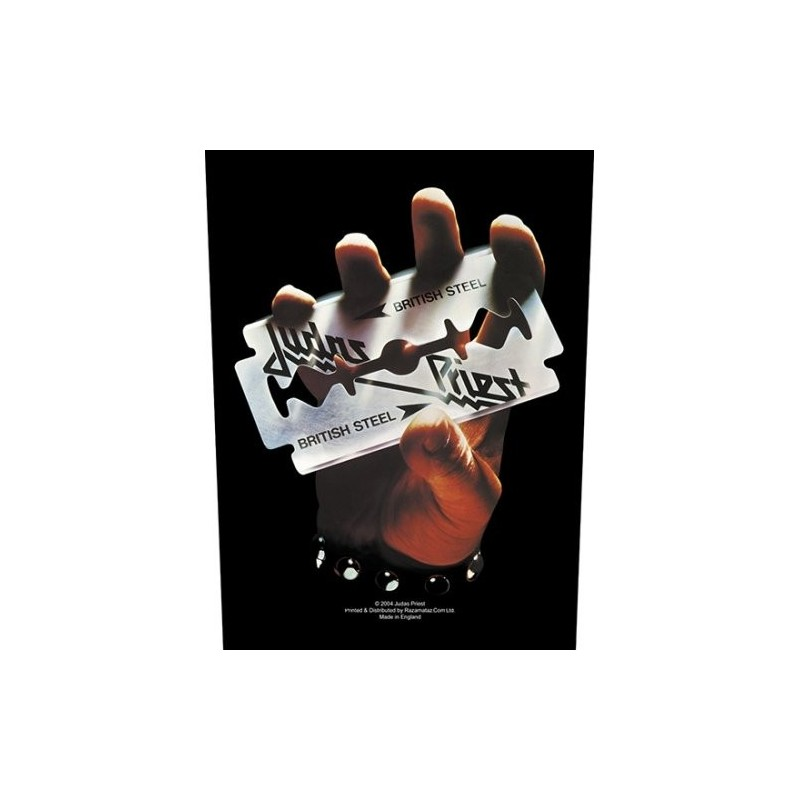 Back Patch Judas Priest British Steel