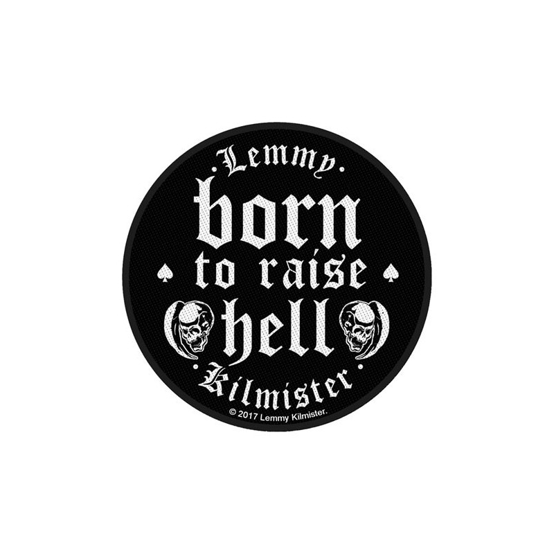 Patch Lemmy Born to Raise Hell