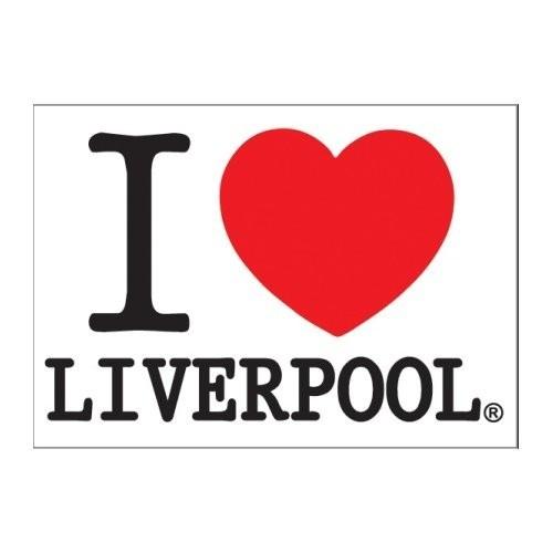 Carte Postală Magic Moments I Love Liverpool