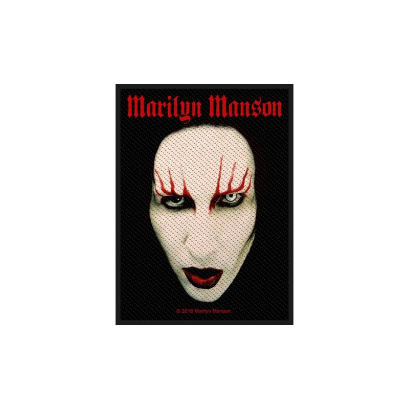 Patch Marilyn Manson Face